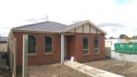 Brickwork and facade is complete